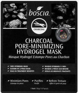 Las 10 mejores mascarillas de hoja (Sheet Masks) Boscia Charcoal Pore-Minimizing Hydrogel Mask by alejandra avila