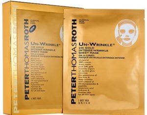 Las 10 mejores mascarillas de hoja (Sheet Masks) peter thomas roth by alejandra avila