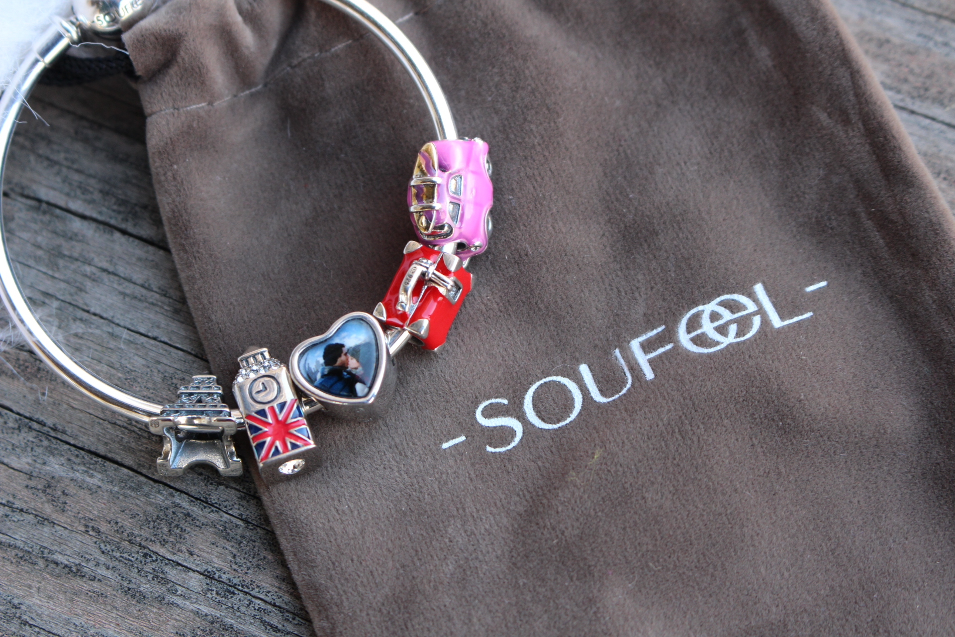 eiffel tower big ben london personalize heart suitcase car travel charms soufeel review by alejandra avila