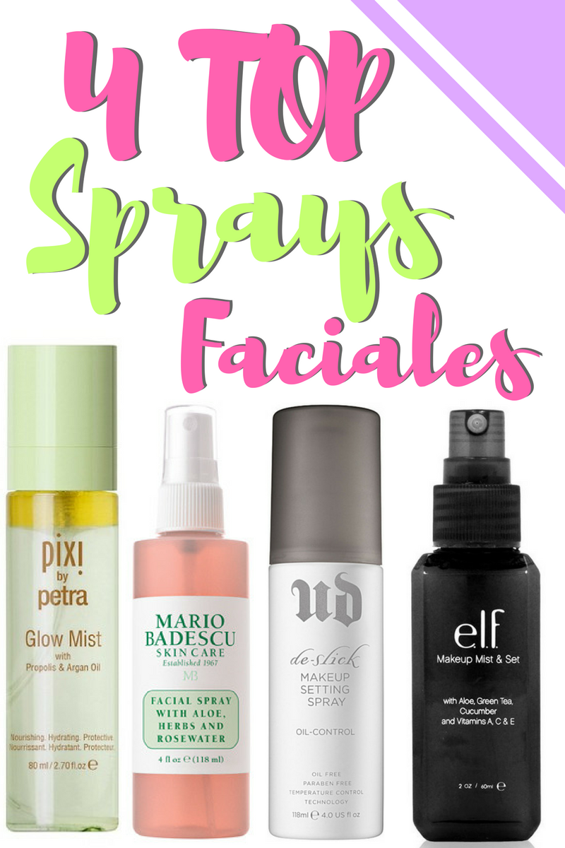 los 4 mejores sprays faciales by alejandra avila