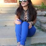 Tobi gray bodysuit OOTD OOTN outfit ideas tobi online by Alejandra Avila - Tufashionpetite