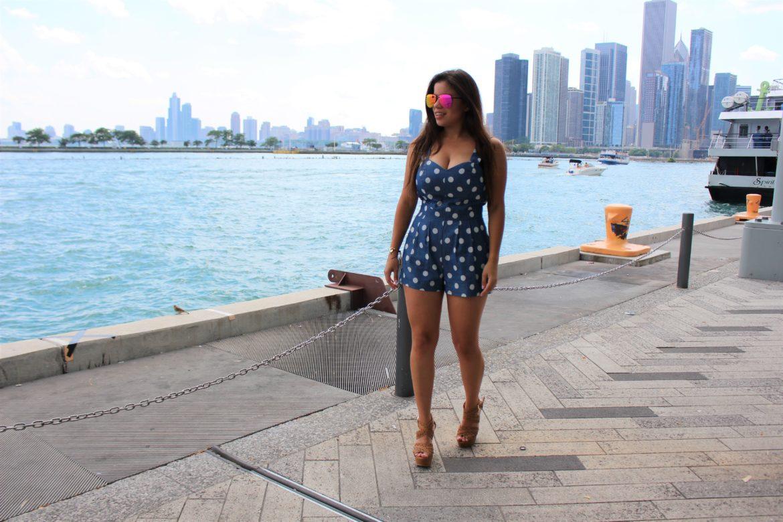 Navy Pier Jumpsuit by Tu Fashion Petite Alejandra Avila (2)