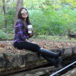 Flannel LL BEAN fall outfit quay australia shades high key black old navy jeans rockstar quay purple flannel ll bean hunter boots by Alejandra Avila Tu fashion petite