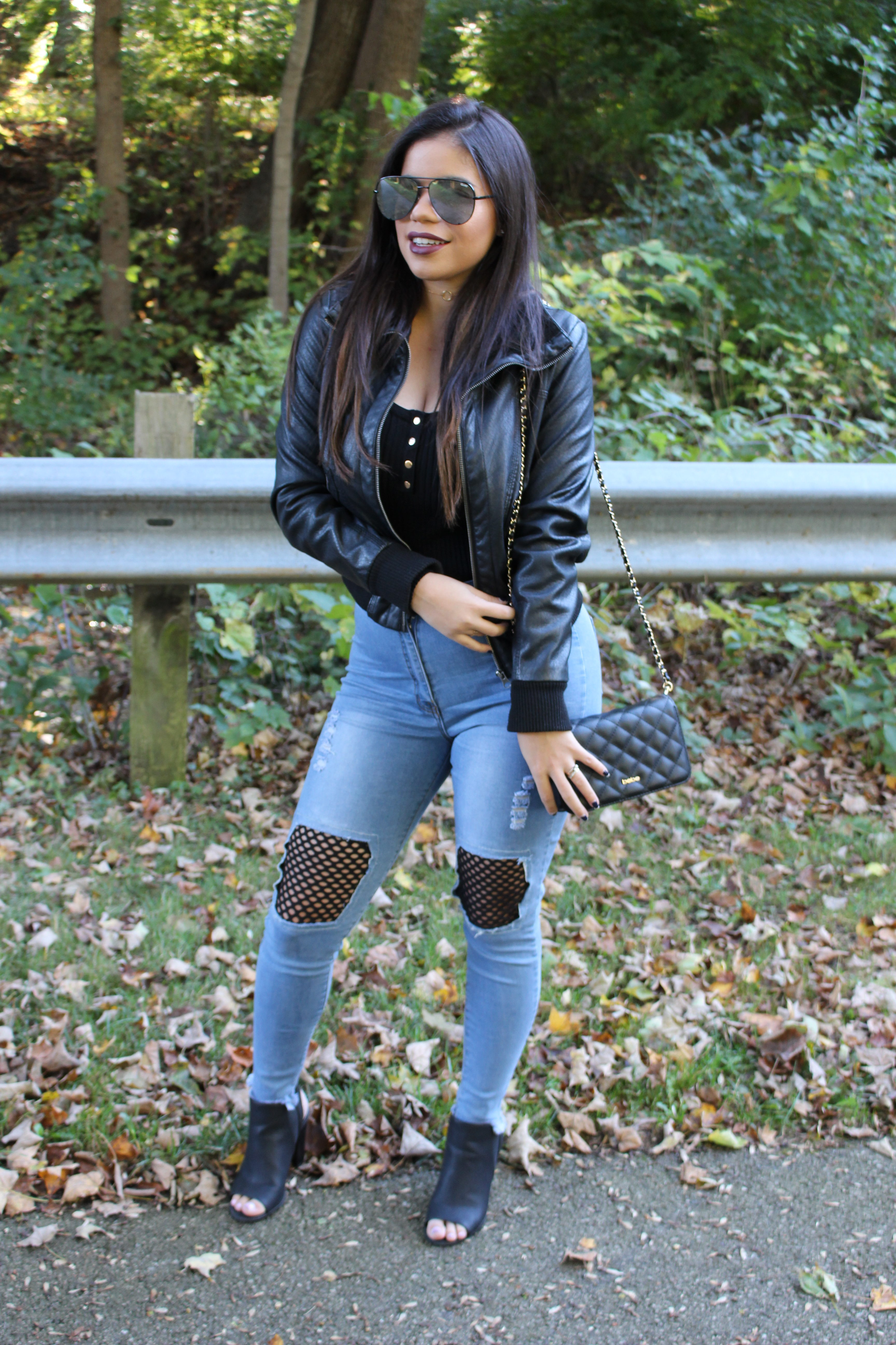 hot miami styles jeans rocker outfit jeans details ootd ootn by alejandra avila tufashionpetite